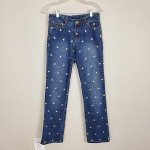 Lilly Pulitzer Embroidered Stars Bootcut Jeans 4